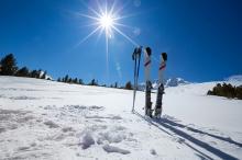 Skispullen vaker gestolen tijdens de wintersport
