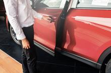 Beveiligde auto�s minder snel gestolen