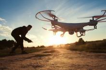 Eropuit met uw (goed verzekerde) drone