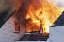 Veel meer woningbranden in 2020