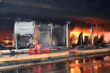 Onderschat impact van bedrijfsbrand niet