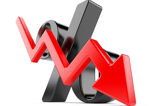 Kredietrente webwinkels en rood staan nog altijd erg hoog