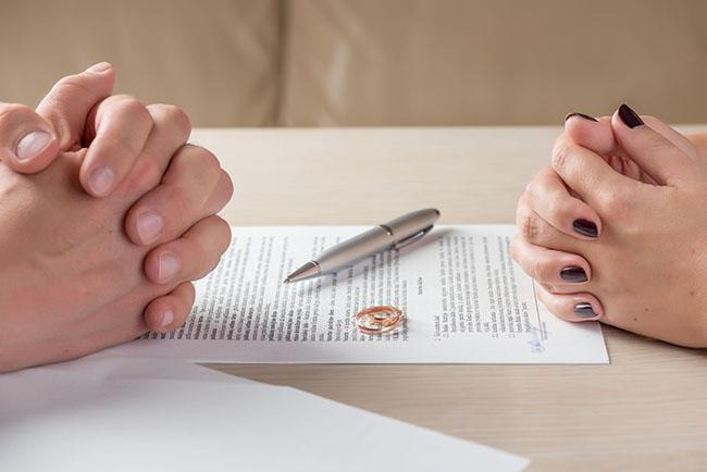 Na de scheiding niet verlost van de schulden