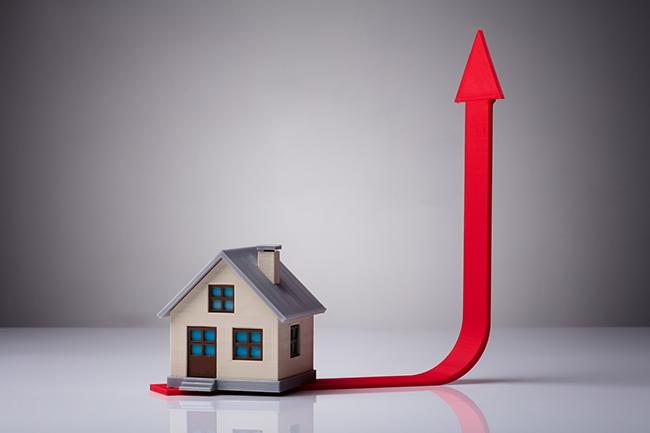 Recordstijging huizenprijs in derde kwartaal