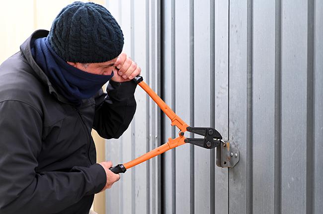 Is diefstal uit schuur of garage gedekt op uw inboedelverzekering?