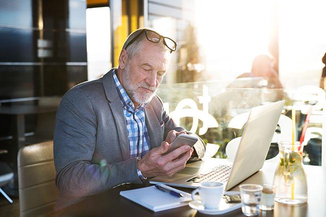 Oudere ondernemer, stoppen of doorgaan?