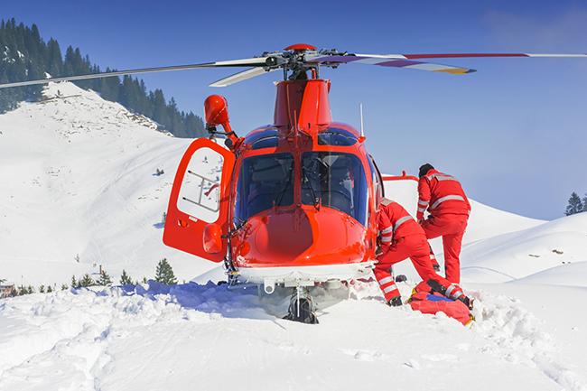 Ski-ongeluk kan tot juridische problemen leiden